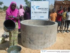 Consutrcution d'un puits au Niger - Touche d'espoir