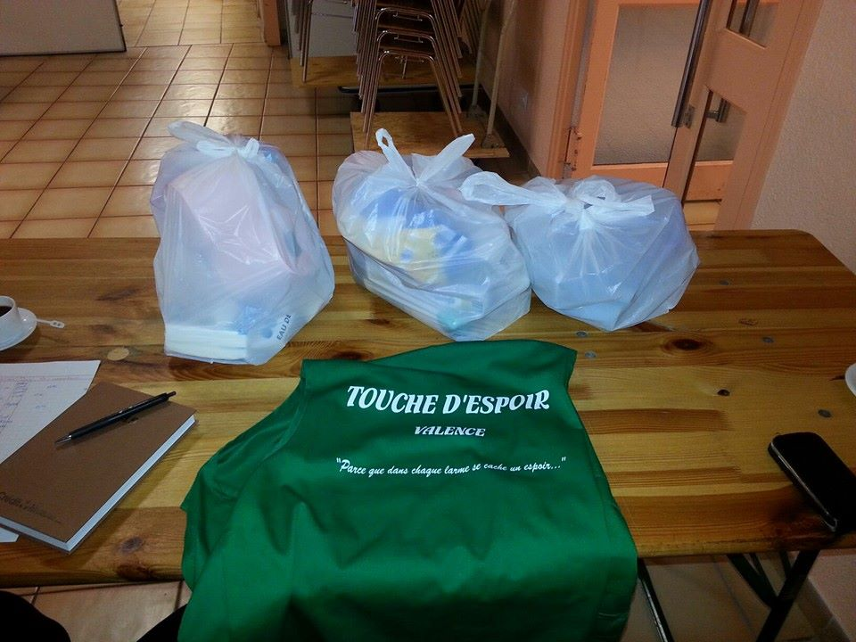 Distribution de 400 colis hygiéniques