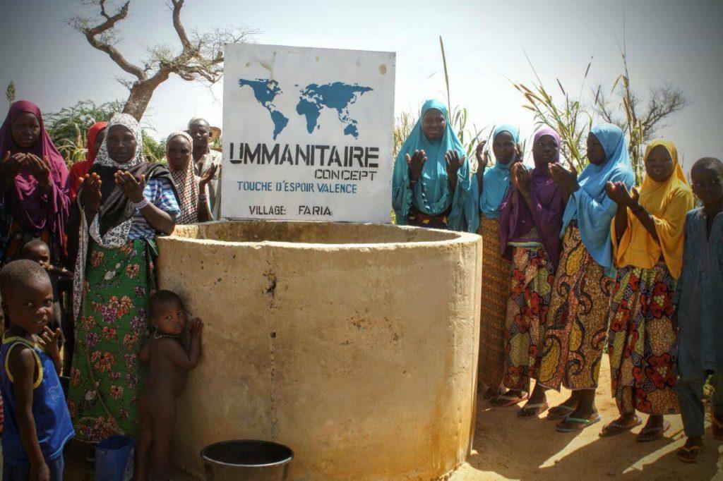Construction d'un puits Village Faria (NIGER)