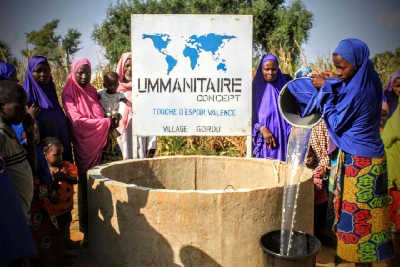 Construction d'un puits au Village Gorou (NIGER)
