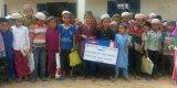 Construction d'un puits et latrines et Cambodge