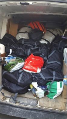 Aide aux réfugiés de Calais
